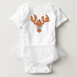 Crab Monster love Baby Bodysuit