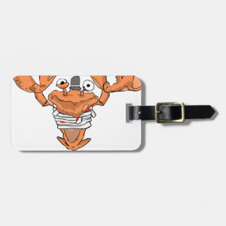 Crab Monster love Luggage Tag