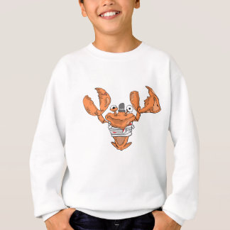 Crab Monster love Sweatshirt