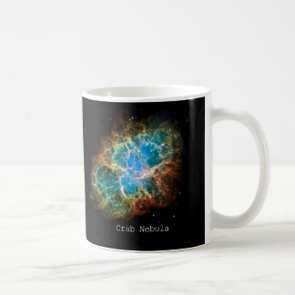 """""""Crab nebula"""" Basic White Mug"""