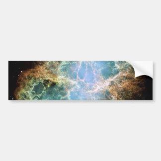 Crab Nebula Car Bumper Sticker