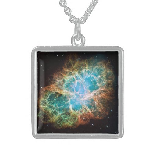 Crab Nebula M1 Necklace