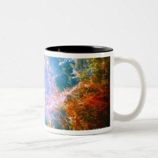 Crab Nebula Two-Tone Mug
