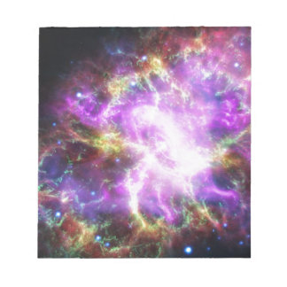 Crab Nebula Notepad