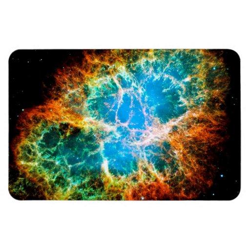 Crab Nebula Flexible Magnet