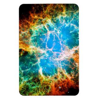 Crab Nebula Rectangular Photo Magnet