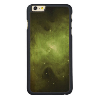 Crab Nebula, Supernova Remnant, Green Light Carved Maple iPhone 6 Plus Case