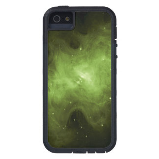 Crab Nebula, Supernova Remnant, Green Light Cover For iPhone 5
