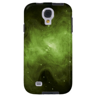 Crab Nebula, Supernova Remnant, Green Light Galaxy S4 Case