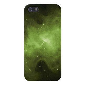 Crab Nebula, Supernova Remnant, Green Light iPhone 5 Cases