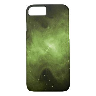 Crab Nebula, Supernova Remnant, Green Light iPhone 8/7 Case