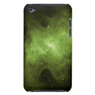 Crab Nebula, Supernova Remnant, Green Light iPod Case-Mate Cases