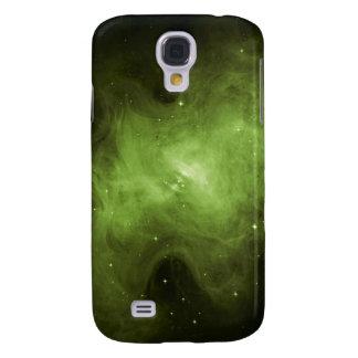 Crab Nebula, Supernova Remnant, Green Light Samsung Galaxy S4 Covers