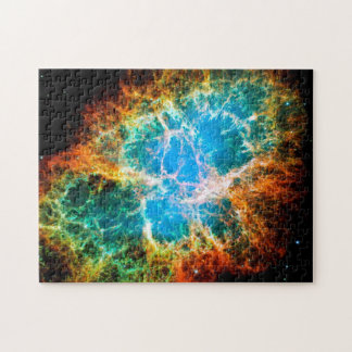 Crab Nebula Supernova Remnant Hubble Space Photo Puzzles