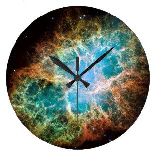 Crab Nebula Wall Clock