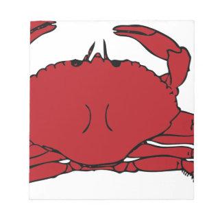 Crab Notepad