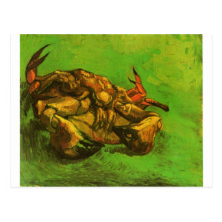 Crab on It`s Back by Vincent van Gogh Postcard