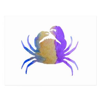 Crab Postcard