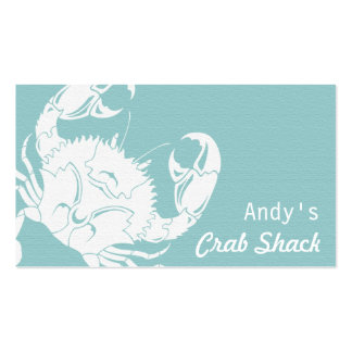 Crab Seafood Business Card