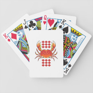 CRAB SEAFOOD BICYCLE PLAYING CARDS