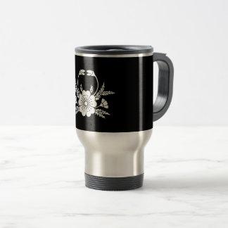 Crab-shaped cherry blossom (EDO) Travel Mug