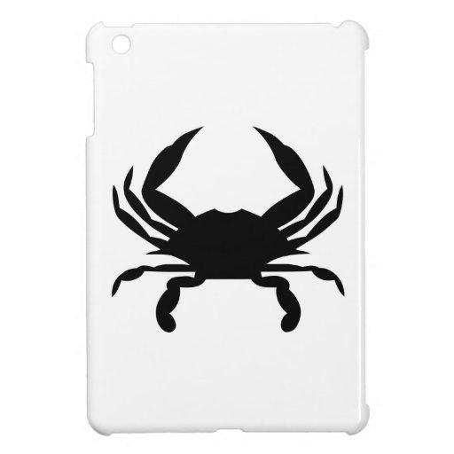 Crab Silhouette iPad Mini Cover