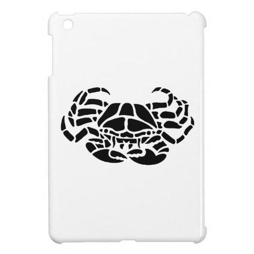 Crab Silhouette iPad Mini Case