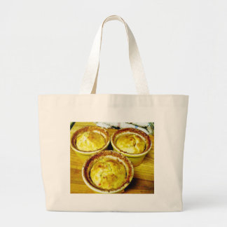 Crab Souffle Cooking Dinner Canvas Bags