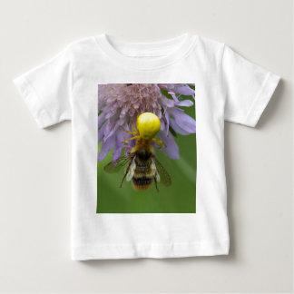 Crab spider (Misumena vatia) with a bumblebee Baby T-Shirt