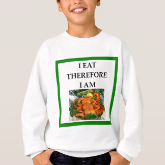crab sweatshirt