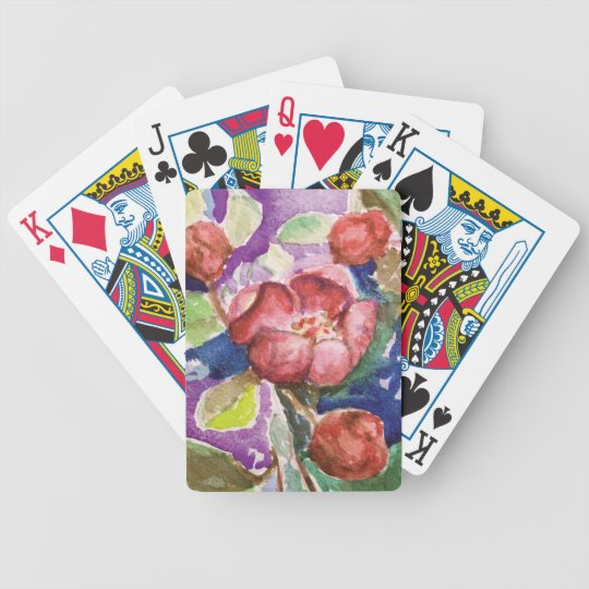 crabapple3 bicycle playing cards