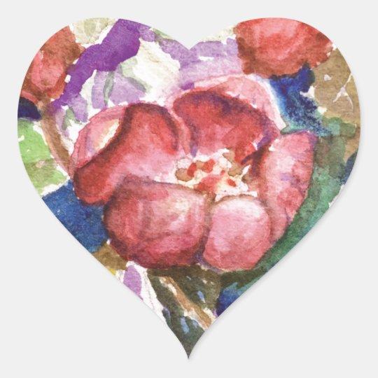 crabapple3 heart sticker