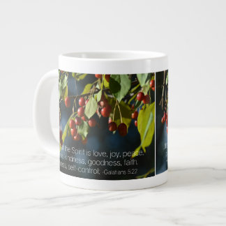 Crabapple Fruit of the Spirit Christian Bible Giant Coffee Mug