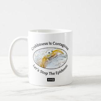 Crabby 11 oz Classic White Mug