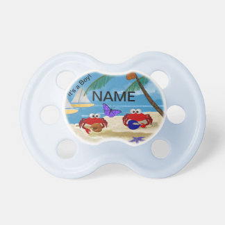 Crabby Baby Pacifier