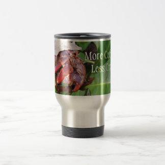Crabby Coffee Stainless Steel Travel Mug