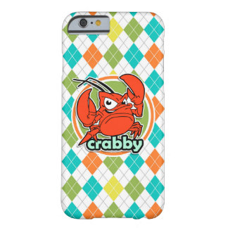 Crabby; Colorful Argyle Pattern Barely There iPhone 6 Case