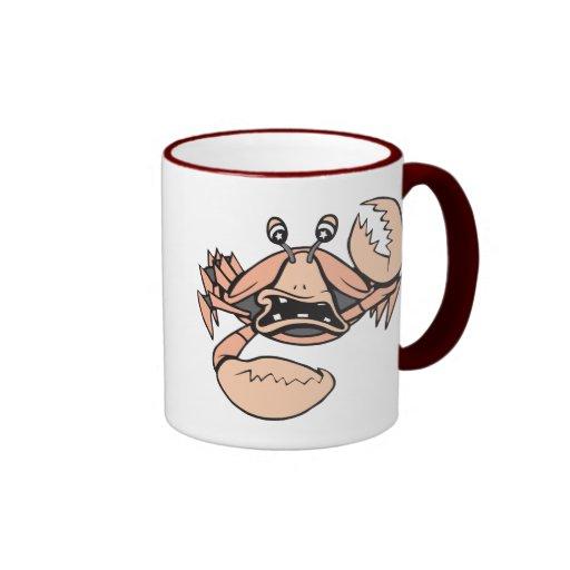 crabby!  Customizable! Coffee Mugs