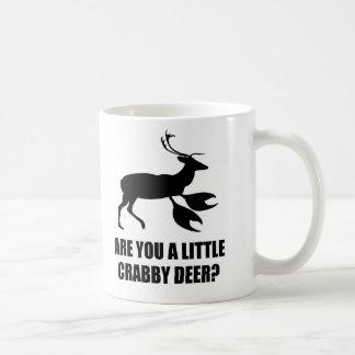 Crabby Deer Basic White Mug