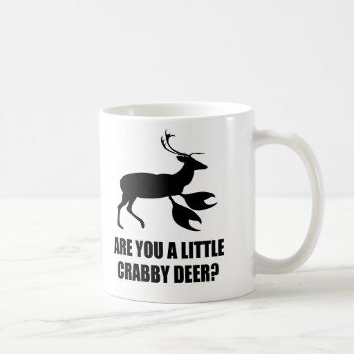 Crabby Deer Coffee Mugs