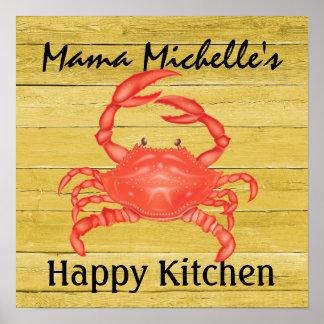 Crabby ... Happy Kitchen - SRF Poster