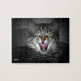 Crabby Kitty Cat Puzzle