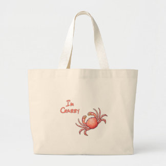 Crabby Large Tote Bag