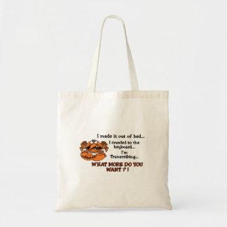 Crabby MT Tote Bag