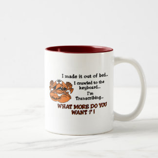 Crabby MT Two-Tone Coffee Mug