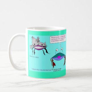 Crabby Classic White Coffee Mug