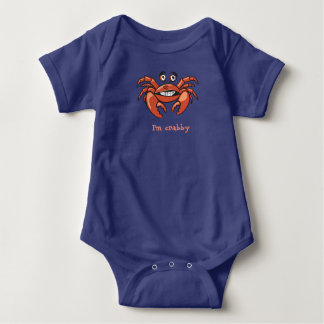 Crabby Onsie Baby Bodysuit