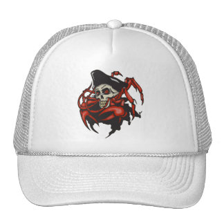 Crabby Pirate Cap