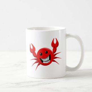 Crabby Smile Basic White Mug