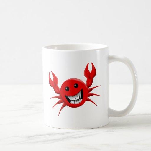 Crabby Smile Mug